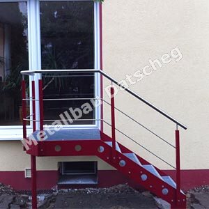Treppe 02 - Metall