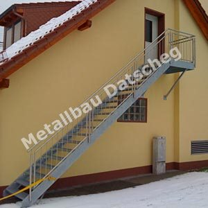 Treppe 13 - Metall
